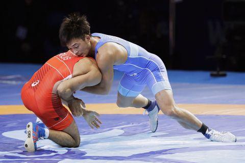 世界レスリング、25歳太田が金