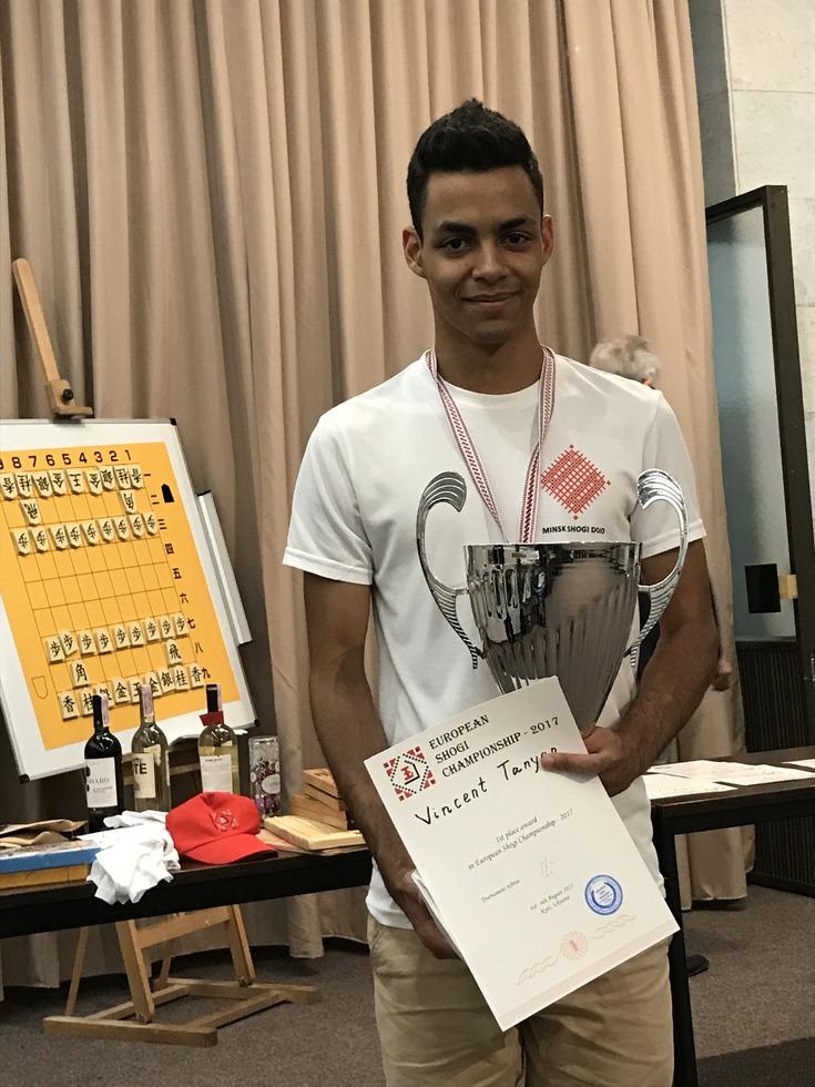 ヨーロッパ選手権で優勝したタニヤンさん
