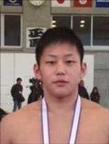 80キロ級で優勝した三田大生(黒羽)