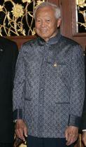 死去したプレム・チンスラノン氏=2006年5月、バンコク(ロイター=共同)