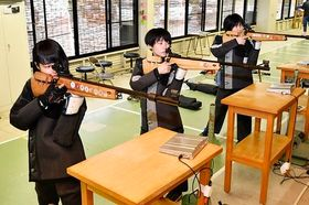 ライフル射撃 城西エア女子10連覇、男子ビームは小松島V4