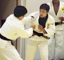 柔道の世界選手権に向け練習する男子60キロ級の高藤直寿=東京都目黒区