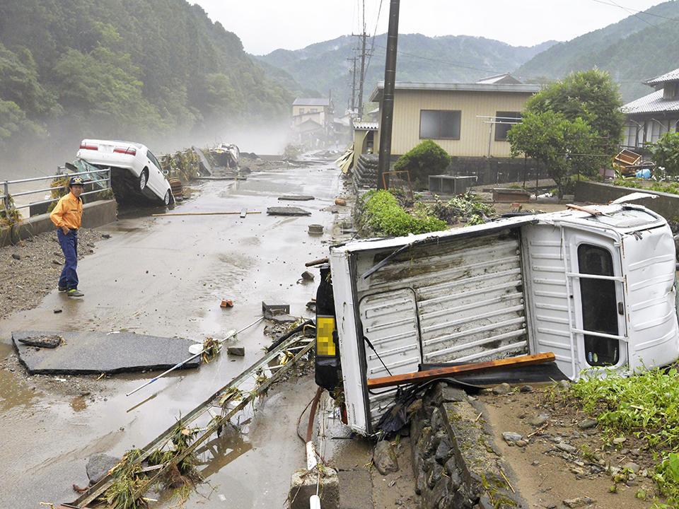 岐阜県内各地で被害、3人死傷 大...