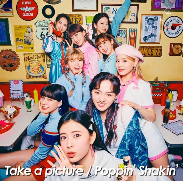 「Take a picture」「Poppin' Shakin'」が、女性グループ史上初のデジタルシングル1位、2位独占したNiziU