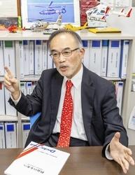 篠田伸夫理事長