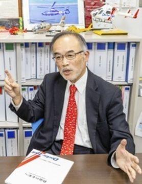 ドクターヘリの20年を語る 年間3万件に迫る実績 普及推進のNPO理事長
