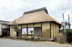 修復を終えた富士市内最古の古民家「稲葉家住宅」=富士市岩淵
