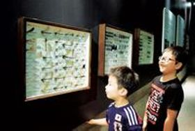 <カワセミ水族館>ゲンゴロウ、タガメ…福島・双葉の昆虫標本423種展示