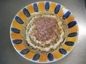 しょうゆマヨスパゲティ