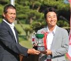 ゴルフ 河瀬が13年ぶりV シニアは芹沢が制す 静岡プロ選手権
