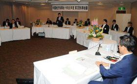 防災情報システムの検討会発足を決めた中国地方知事会