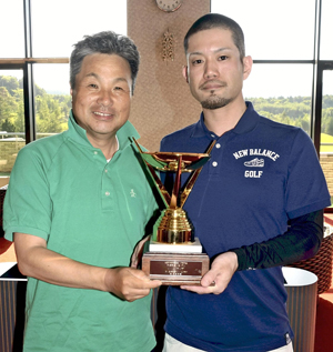 郡山・遠藤が初優勝 全国視覚障害者ゴルフ競技会