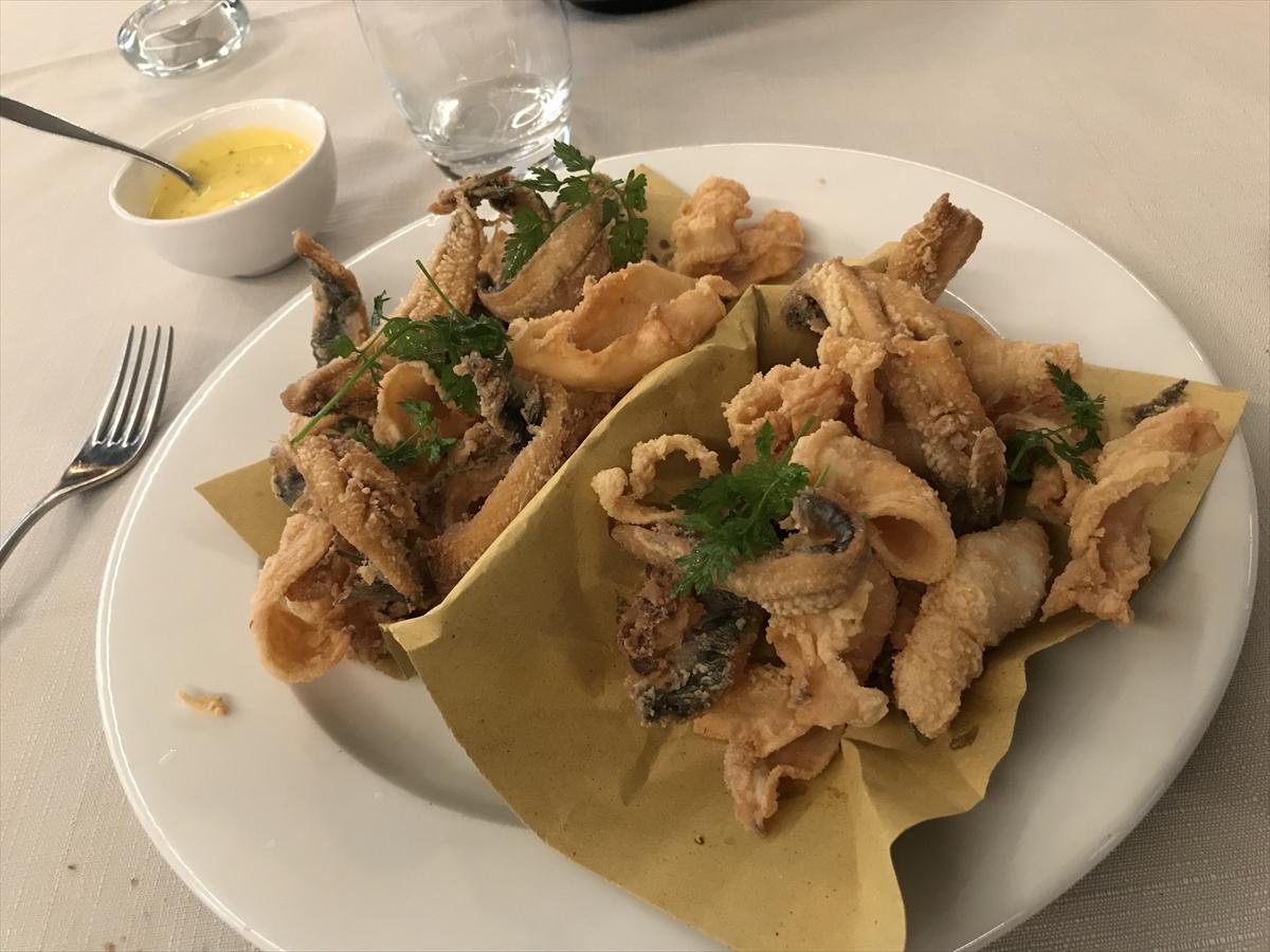 イタリアの食事はどれもおいしい