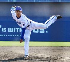 韓国プロ野球ハンファとの練習試合で好投したDeNA・桜井=宜野湾