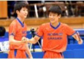 卓球男子団体・野田学園、快勝で4強 インターハイ