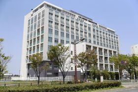 収容者のハンガーストライキが発生した大阪入国管理局=大阪市住之江区