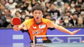男子シングルスで史上最年少優勝を果たした張本