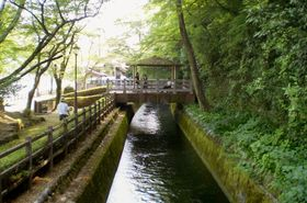 2015年、「世界かんがい施設遺産」に登録された岐阜県の曽代用水(農水省提供)