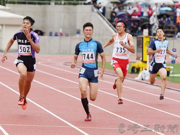 北関東高校陸上男子400、杉田自己新V 女子走り高、山田V