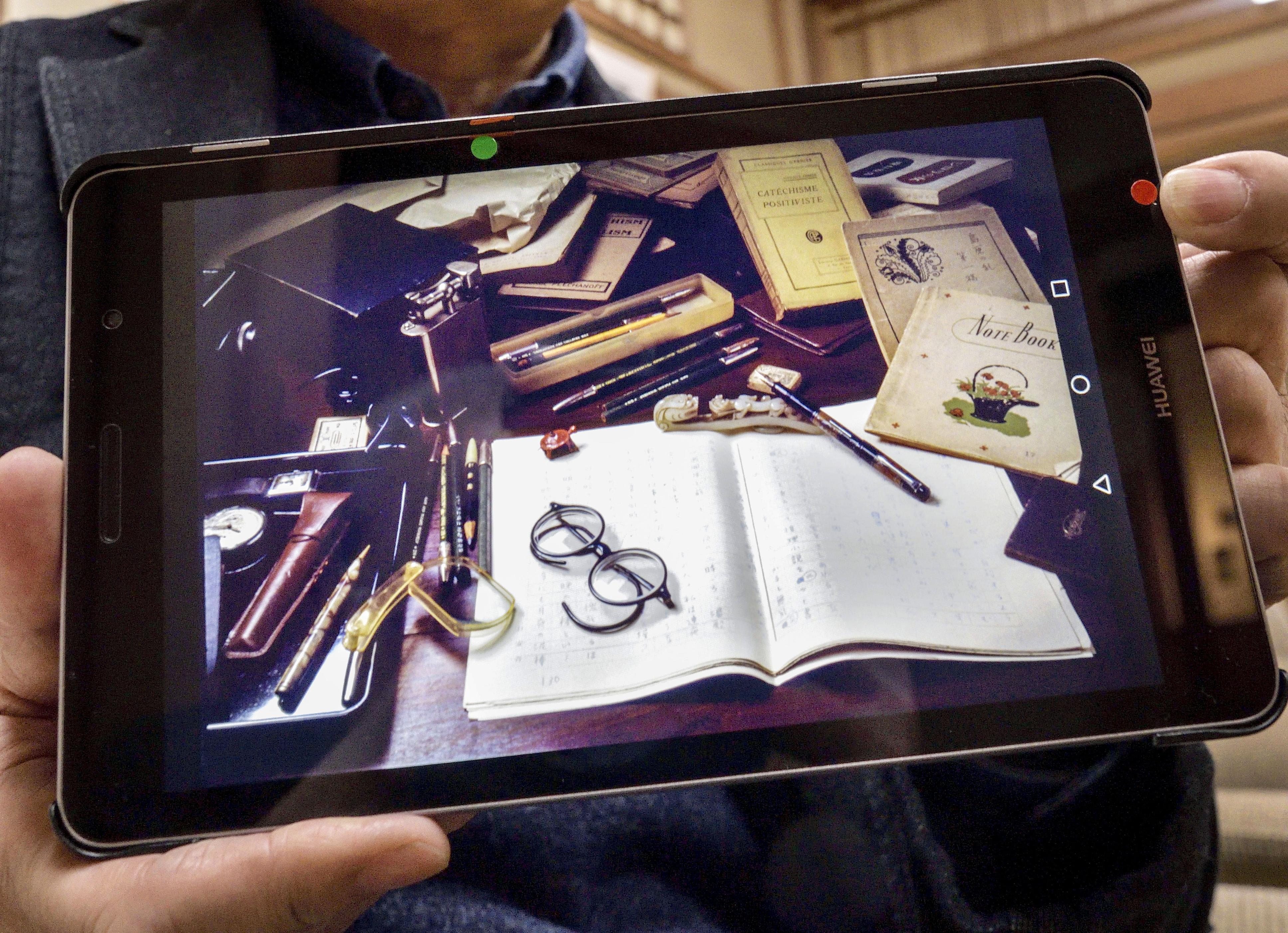坂口安吾の遺品は綱男自身によって撮影されデジタルデータとして保存されている