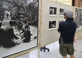 祭祀鮮明に映し出す 宮古島「ナナムイ」写真展に230点 比嘉、長崎さん撮影