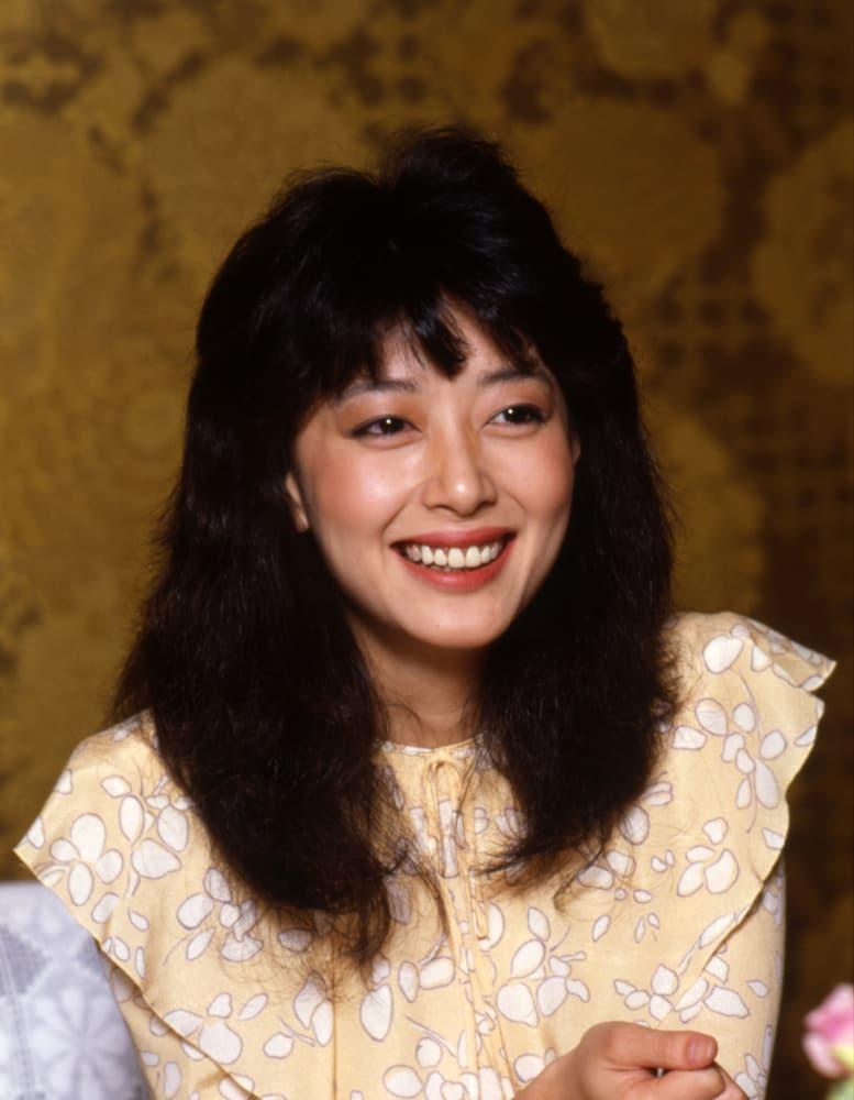 1982年10月、ホテルオークラで撮影