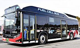 新常磐交通が東北で初めて導入したFCバス「SORA」