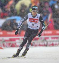スキーW杯複合個人最終戦で5位の渡部暁斗=ショーナッハ(共同)