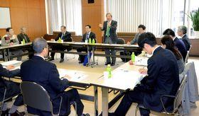 朝河博士顕彰へ連携を確認した連絡会議