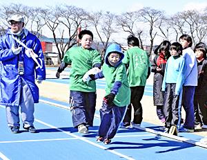 今井正人選手「東京五輪」出場へ思い込め 130人リレーで応援