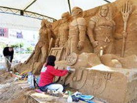 JR鳥取駅周辺で 砂丘の美術館10周年イベント