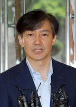 韓国のチョ国法相(聯合=共同)
