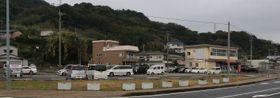 ホテルの建設が予定されている旧瀬戸地区公民館跡地=長崎県西海市大瀬戸町