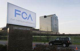 手フィアット・クライスラー・オートモービルズ(FCA)の米ミシガン州にある拠点=2014年(AP=共同)