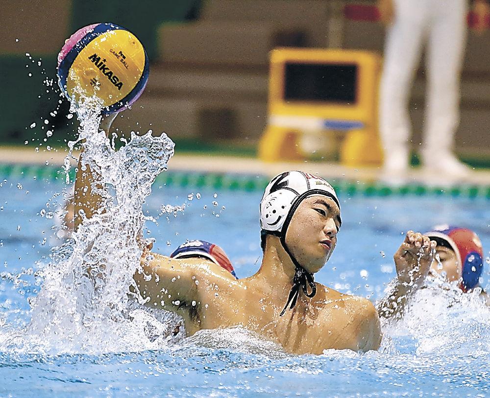 石川イーグルス全国切符 北信越ジュニア秋季水球大会 中学男子準優勝