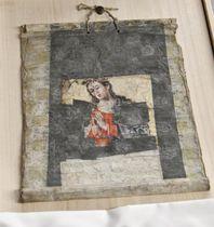 修復された聖画「雪のサンタマリア」