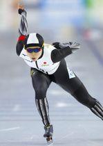 女子1000メートルで2位の高木美帆=ヘーレンフェイン(AP=共同)