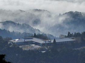 比叡山にあるロテルド比叡(京都市左京区)
