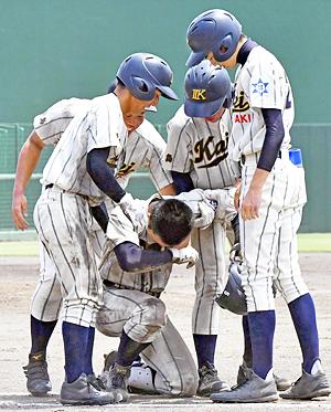 いわき海星『全員野球』あと1点...届かず 主将「仲間に感謝」