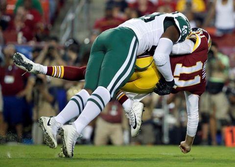 タックルに関するルールを変更 NFL、プレシーズンで戸惑いも
