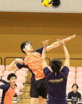 【写真】速攻を仕掛ける李博