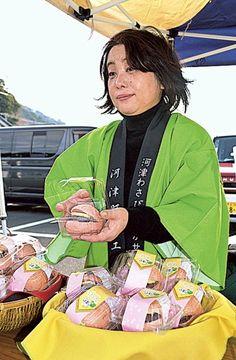 河津桜とワサビコラボ