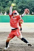 ソフトボール 世界最高峰の投手戦 アボット、上野由岐子に投げ勝つ