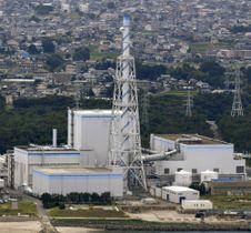 茨城県東海村の日本原子力発電東海第2原発
