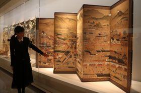 長崎くんちの歴史を伝える「くんち三八五年展」=長崎歴史文化博物館
