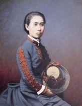 荻野吟子肖像(埼玉県熊谷市提供)