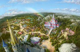 2020年4月15日にオープンする東京ディズニーランドの新エリアのイメージ