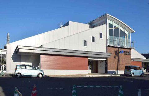 10月からカーシェア・ステーションが近くに新設されるJR玉水駅(京都府井手町井手)
