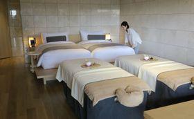 「ザ・サウザンド キョウト」の客室=24日、京都市