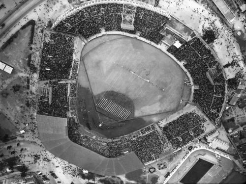 1957年当時の甲子園球場